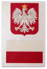 Barwy Polski Tatuaze Zmywalne Polska Flaga Lub Polskie Godlo